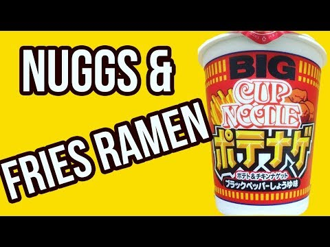 Chicken Nugget & French Fry Ramen Is Real & Proves That Dreams Come True