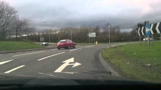 Police Scotland Fife Bmw Traffic Car  Road Closure