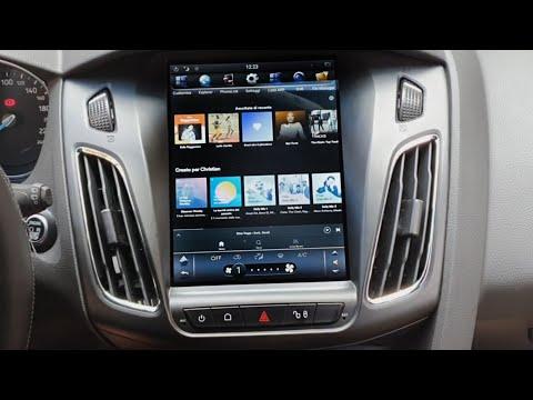 Магнитола Ford Focus 3 в стиле Tesla / Android магнитола с алиэкспресс форд фокус