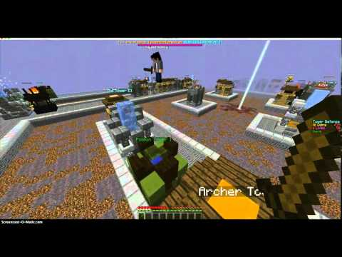 bloons tower defense minecraft map