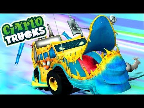 CryptoTrucks | Ness seal | Monster Trucks For Children | Cartoon Videos For Toddlers by Kids Tv