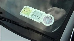 Easy Film Tax Disc Holder - First Stop