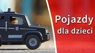 Pojazdy dla dzieci po polsku - Dzieci poznają samochody, traktory i inne pojazdy