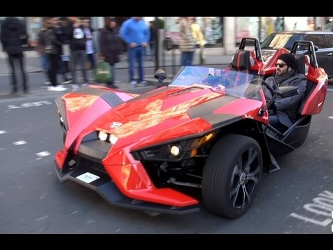 Most Expensive Car | 3 Wheel Car Polaris Slingshot 2015 | HARLEY DAVIDSON