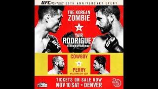 Korean Zombie Chan Sung Jung vs Yair Rodriguez UFC FIght Night 139 Live Reaction!