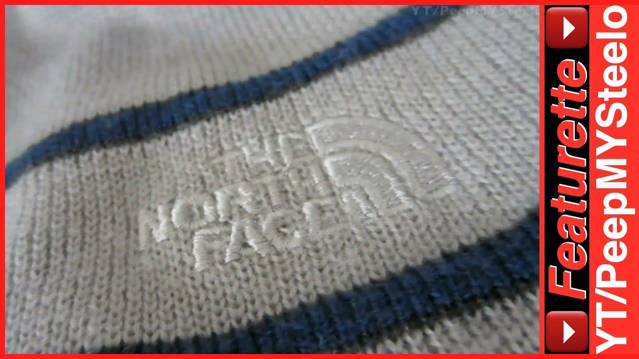 The North Face Beanie Winter Hats For Women   Men in Wool w  Fleece Lined  Logo Style Skull Cap - YouTube 3293a431cae