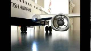 737 model Ducted Fan Jet Engine