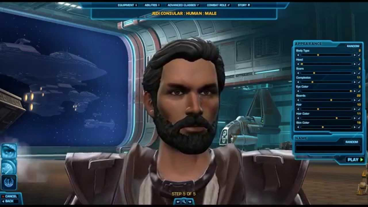 Swtor part 1 jedi consular character creation youtube for Who is a consular