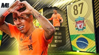 FIFA 18 SIF FIRMINO REVIEW | 87 SIF FIRMINO PLAYER REVIEW | FIFA 18 ULTIMATE TEAM