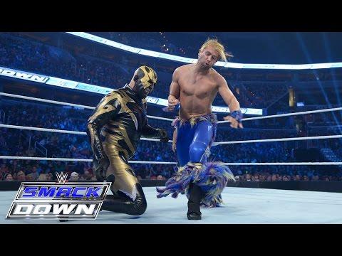 Goldust Vs. Tyler Breeze: SmackDown – 31. Dezember 2015
