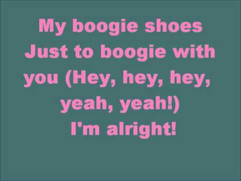 Glee Boogie Shoes with lyrics