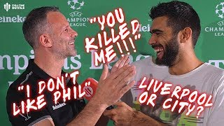ANTHONY JOSHUA or TYSON FURY? | Ryan Giggs Quickfire Questions