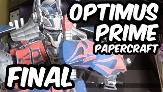 OPTIMUS PRIME AoE - Papercraft (Final Part - Arms)