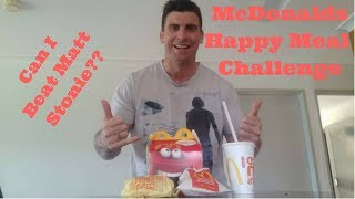 Fastest Happy Meal Eaten