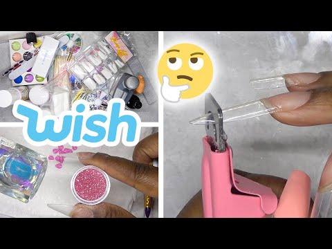 DIY Testing Acrylic Nail Kit from Wish