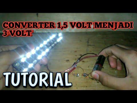 Cara Menaikkan Tegangan 1,5 Volt To 3 Volt