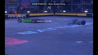 BattleBots Basement - Ultimo Destructo vs. Valkyrie - Unseen fight from BattleBots Fight Night #1