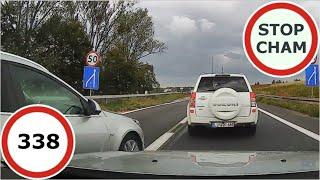 Stop Cham #338 - Niebezpieczne i chamskie sytuacje na drogach
