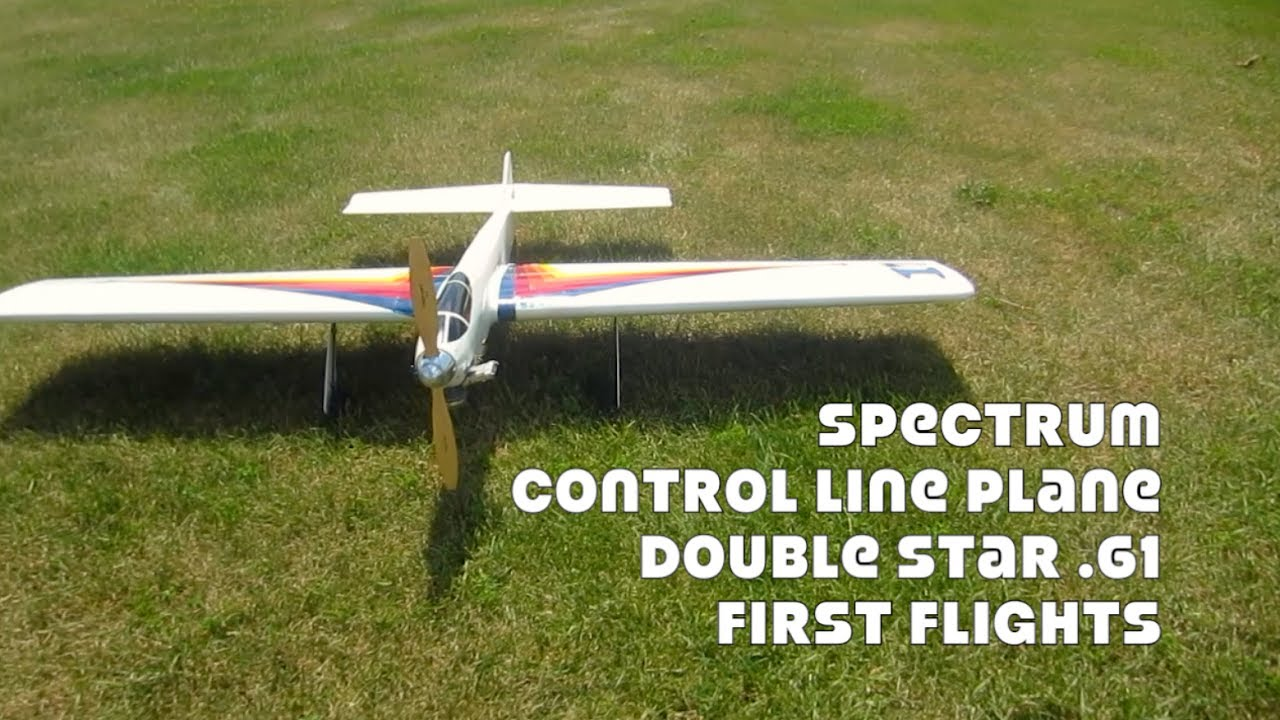 Spectrum Control Line Plane with Double Star  61 Engine
