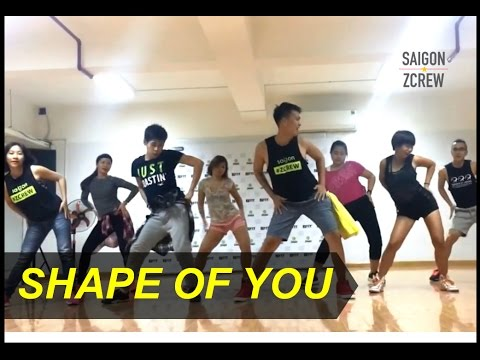 Shape of You (Remix) | Zumba® | Saigon ZCrew | ZFit