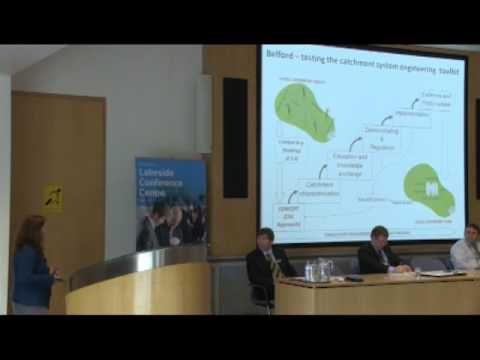 Water Summit - Elizabeth Stockdale, Lecturer in Environmental Science, Newcastle University
