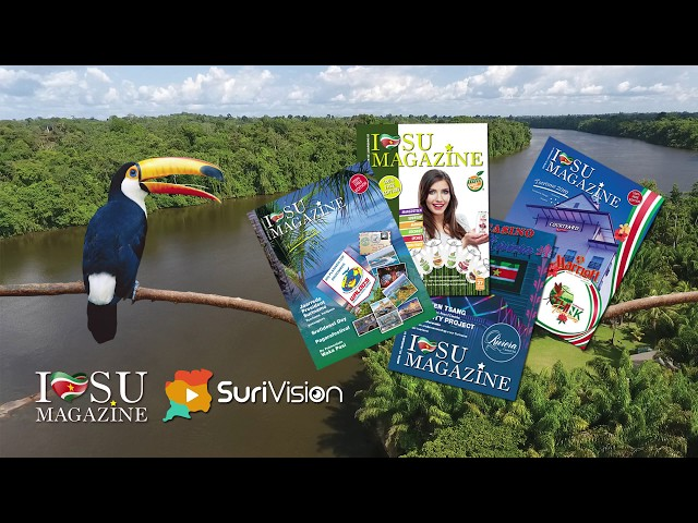 Samenwerking - SuriVision & I Love Su Magazine