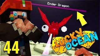 UCCIDERE L'ENDERDRAGON CON UN SOLO COLPO!? - Minecraft ITA - Lucky Ocean #44 w/ Metano007