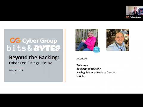Beyond the Backlog: Other Cool Things Product Owners Do