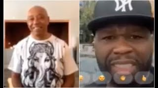 50 Cent Calls Russell Simmons Wife Lazy and Broke