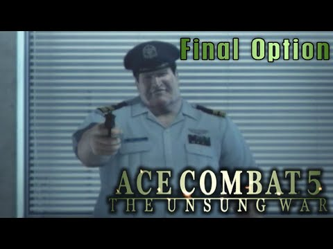 "Ace Combat 5: The Unsung War. Mission 19 ""Final Option"""