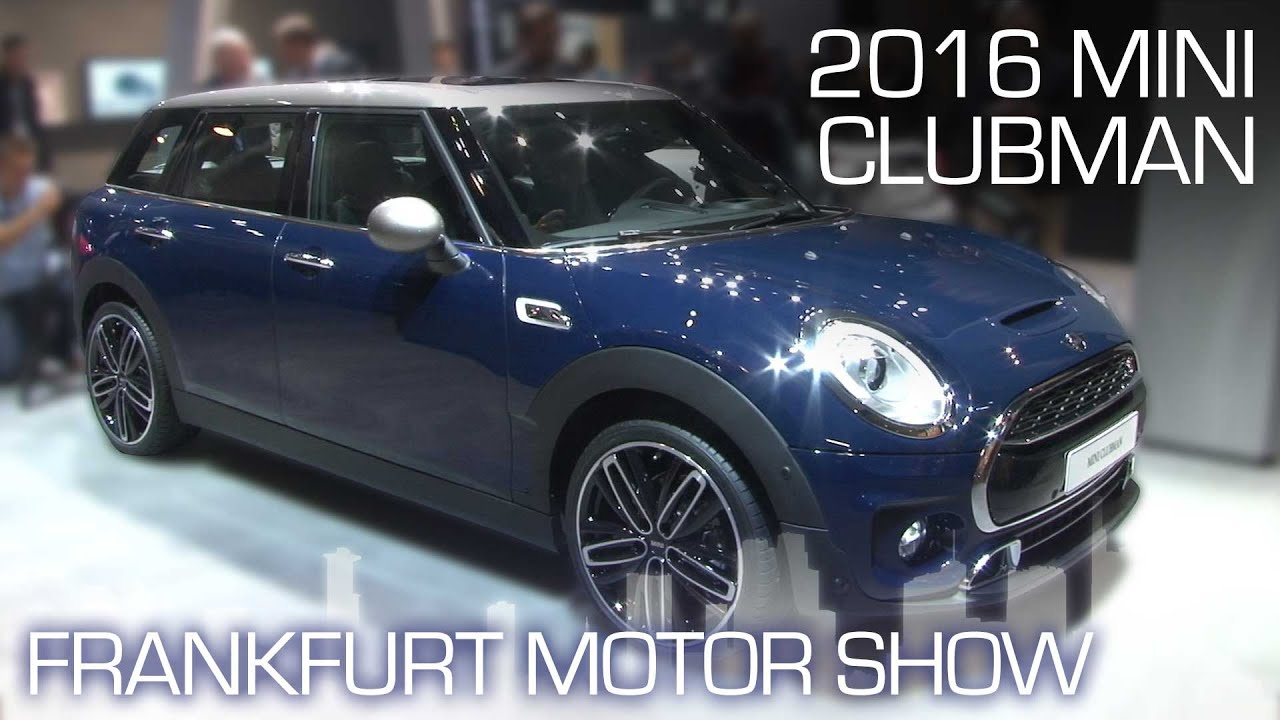 2016 Mini Clubman Grows Up Keeps The Split Doors Frankfurt Motor