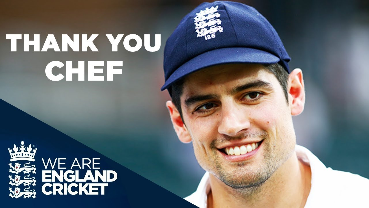 Farewell Alastair Cook   Thank You For The Memories