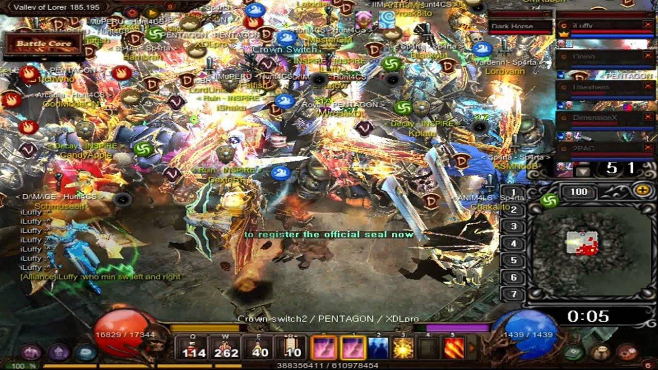 Mu Online Castle Siege 2015-2-15 - Ally INSPIRE- Winer ...