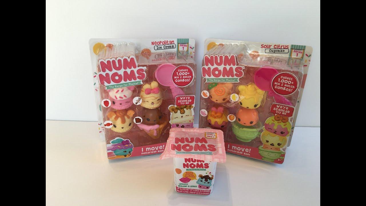 Num Noms New Starter Four Packs And Blind Bag Youtube