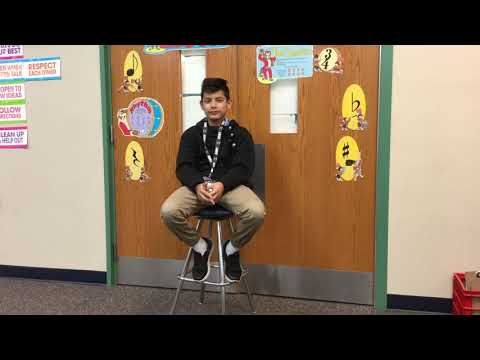 student interview of Roosevelt STEAM Academy sixth-grader