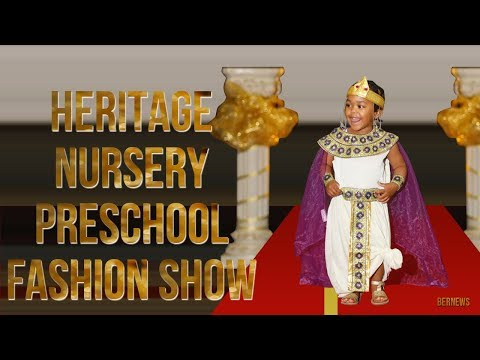 Heritage Nursery & Preschool Cultural Fashion Show, April 2018