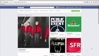 Utilisation Facebook