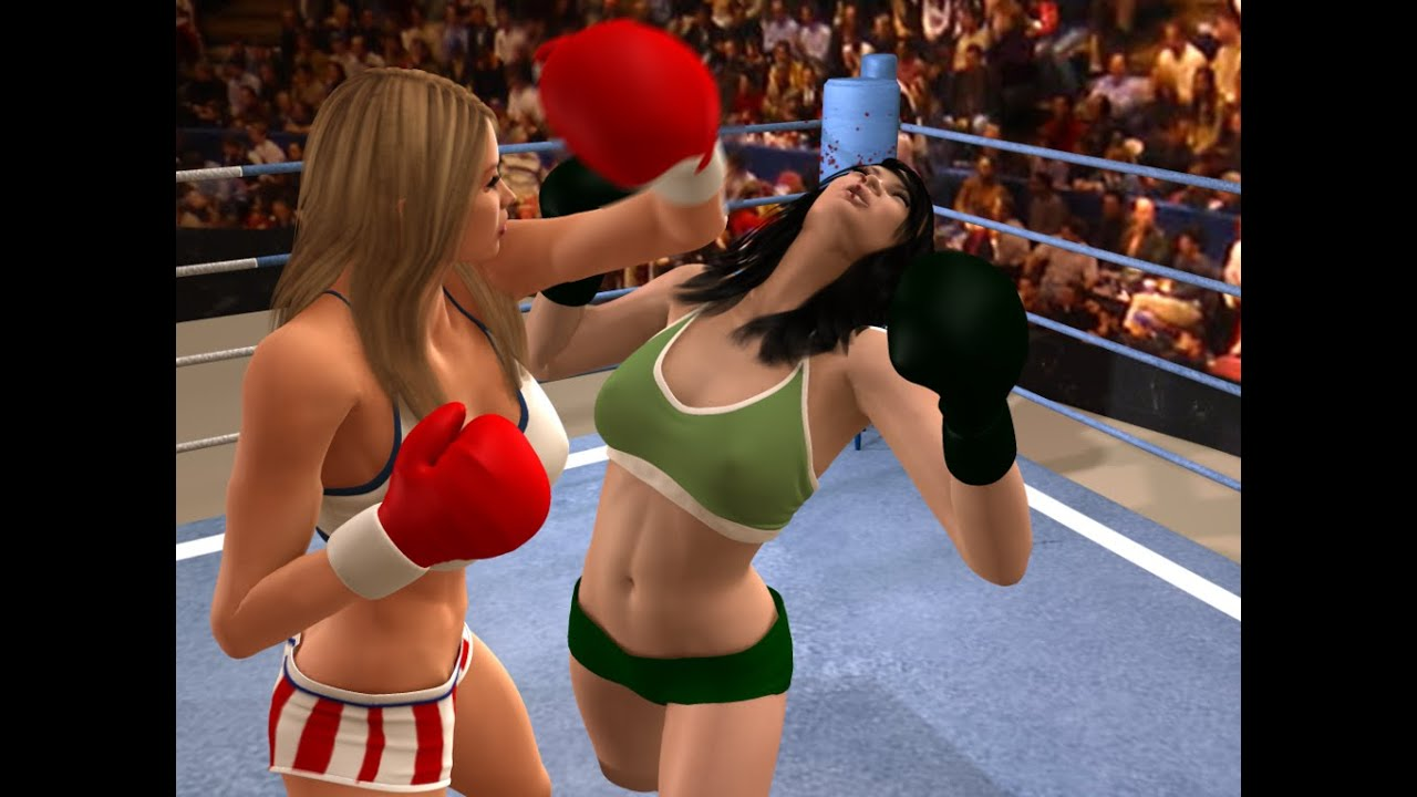 Female fist fighting knockouts