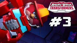 Angry Birds Transformers - Part 3 (Unlocking Heatwave) iOS Gameplay