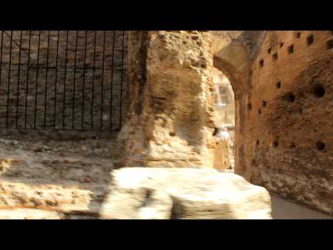 Walk through the Colosseum