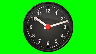 Clock   Green Screen Animation