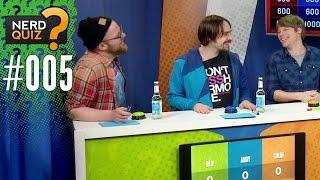 Nerd Quiz 3.0 mit Gregor | Colin vs Andy vs Ben