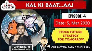 Kingresearch Eagle eye | Best stocks to Trade for Tomorrow | 5th March | Episode 4