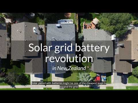 200. Solar-battery storage revolution in New Zealand