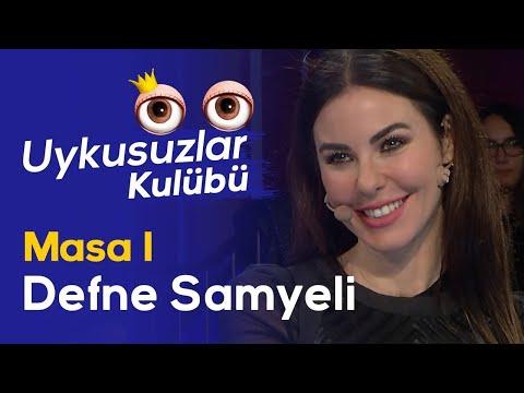 Defne Samyeli - Okan Bayülgen ile Uykusuzlar Kulübü - Masa 1