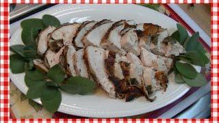 Maple & Sage Quick Roast Turkey Breast Recipe ~ Noreen's Kitchen
