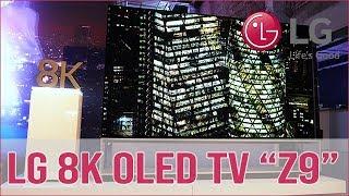 LG OLED Z9  - 8K TV auf 88 Zoll