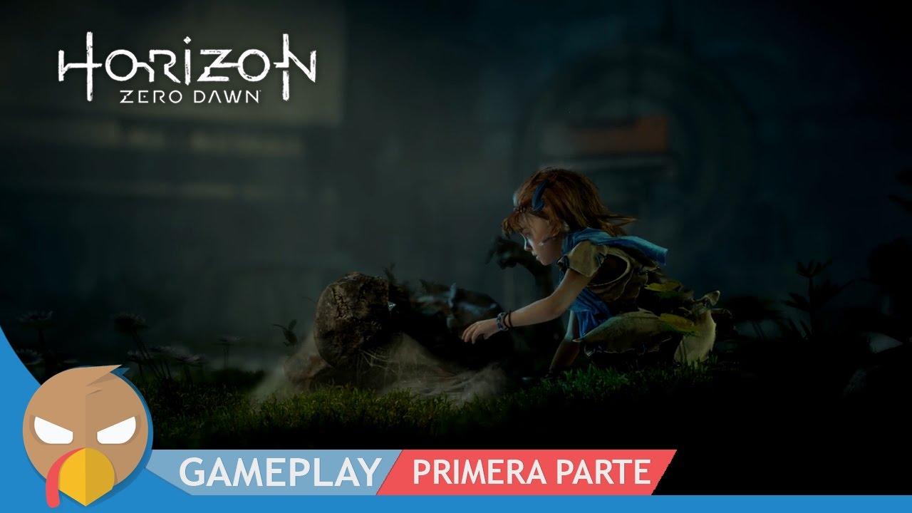 Horizon Zero Dawn - Gameplay - Primera Parte