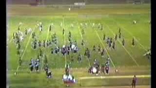Glendora H.S. Marching Band Pt1@1985 Azusa Field Tournament