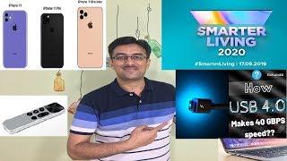 iPhone 11 launch event, USB4 Mi smart device, OnePlus TV launch, hey google - WhatsApp, Tech talk 38